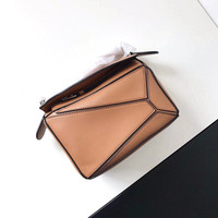 2018 Women Bag Brand patchwork Design Real Cow Leather Soft Geometric Handbag for Woman Shoulder bags with Long Strap Sac Bolsas