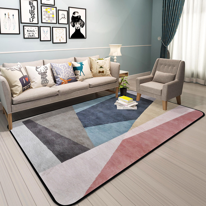 Nordic Irregular Patterns Rugs And Carpets For Home Living Room Soft Bedroom Rug Thick Carpet Kids Room Sofa Table Floor Mat