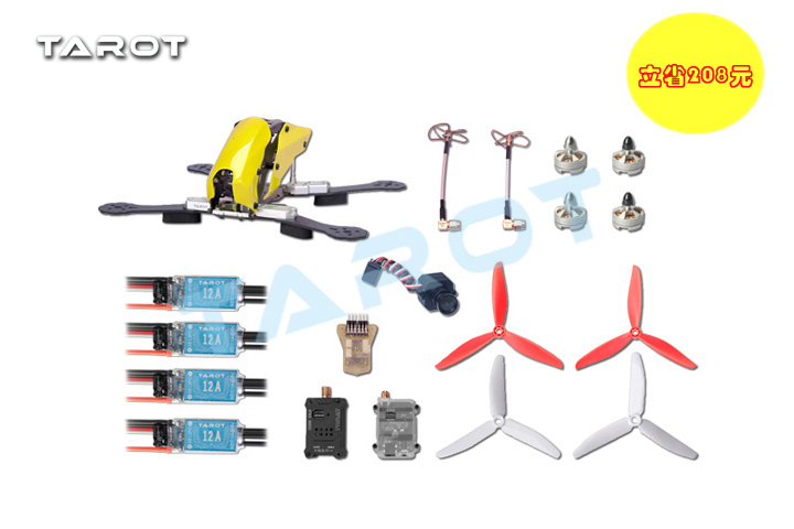 Tarot the new 250 FPV carbon fiber timewarp machine suit the classic tarot карты