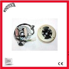 Магнитная статорная пластина+ комплект маховика 110cc 125cc Kick Start PIT PRO Dirt Bike