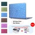 Пейсли Синий Крышка Ноутбука Чехол Для Macbook Pro 13 Retina Случае кристалл Матовая Поверхность Hard Cover Для Mac Book Pro 15 Retina случае