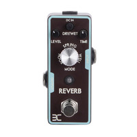 2017 High Quality Guitar Pedal Electric Guitar Single Digital Reverb Electric Guitar Effect Pedal Mini Single