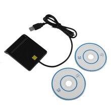 USB 2.0 Smart Chip Card Reader Flash Multi Memory Card Reader IC/ID Card Reader Plug And Play Для PC Card Reader Адаптер