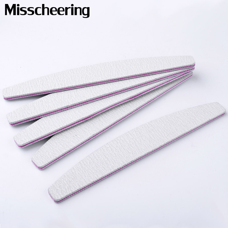 Professional 5Pcs Set Nail File 100 180 Sanding Buffer Block DIY Nail Tips Polishing Remover Kits Manicure Pedicure Tools