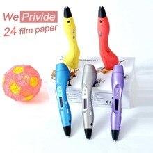 Творческий 1.75 мм ABS/PLA DIY 3D Печать Граффити Ручка LED/ЖК-Экран Smart 3D Ручка Живопись Ручка Ручка для Детей Рисунок Дизайн