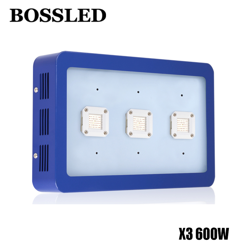 BOSSLED X3 600W led grow light full spectrum for indoor plants Flowers medical veg houseplants hydroponics system grow lamps best 600w1200w 1800w 2700w led grow light full spectrum for indoor plants veg fruit medical grow led light hydroponic system led