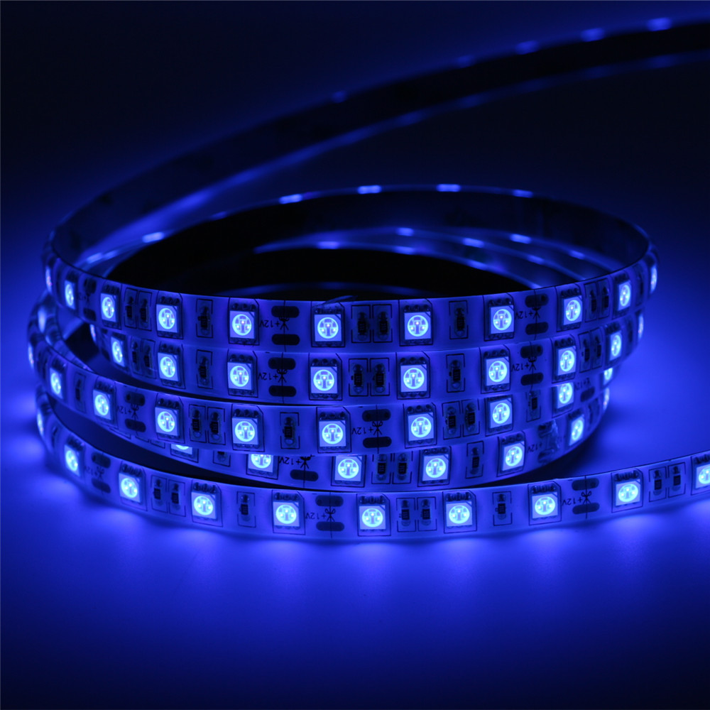 super bright 5m uv ultraviolet led strip light dc12v 5050. Black Bedroom Furniture Sets. Home Design Ideas