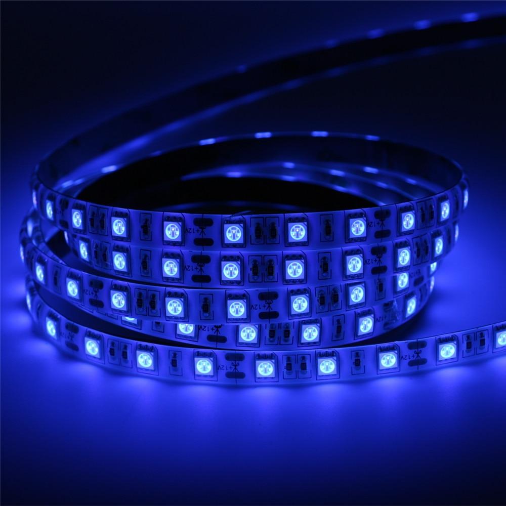 Super Bright 5M UV Ultraviolet Led Strip Light DC12V 5050 300Leds Purple Waterproof LED Tap ...
