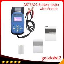 ABT9A01 Автомобильной Батареи Тестер с Принтером быстро проверить основные характеристики батареи Сопротивление ОСО Напряжения
