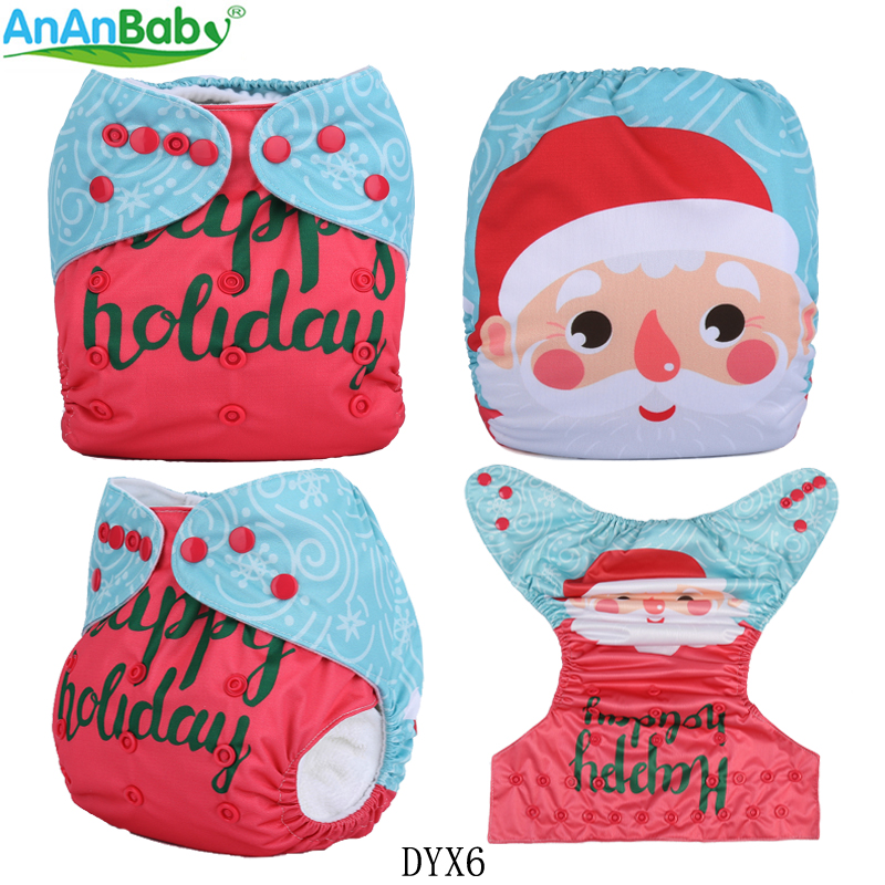 Humorous {ananbaby}2017 New Arrival Position Prints Cloth Diapers Reusable Washable Holiday Position Cloth Nappies