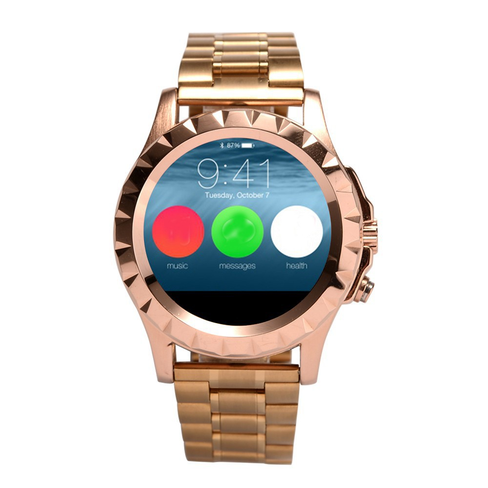 2015 New Smart Watch NO.1 Sun S2 Round screen Bluetooth Watch for Samsung HTC Xiaomi Huawei iphone 6/5s iOS Android Smartphone brand smart watch no 1 smart watch d3