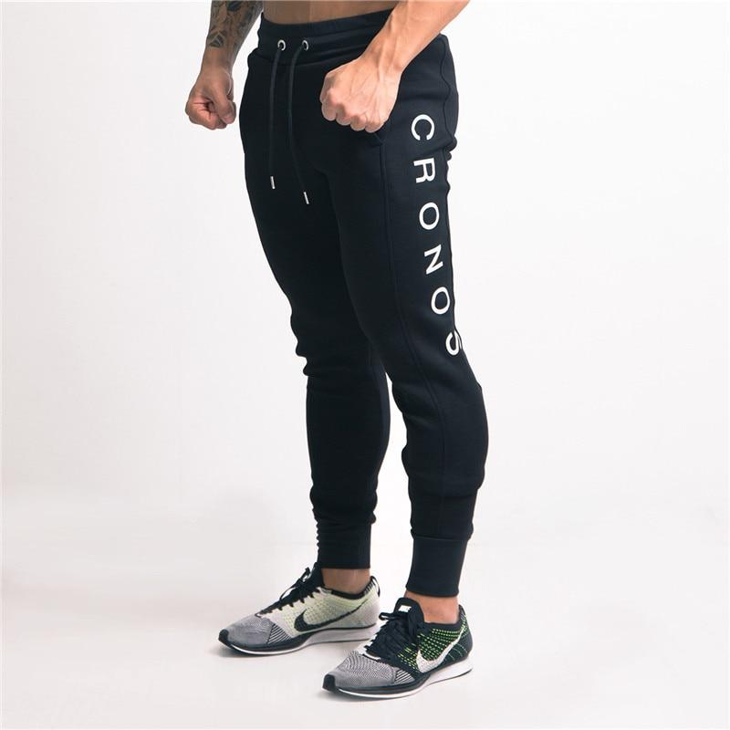 2018 Neue Hosen Männer Workout Bodybuilding Kleidung Casual Jogginghose Mens Joggers Hosen Baumwolle Cyck39