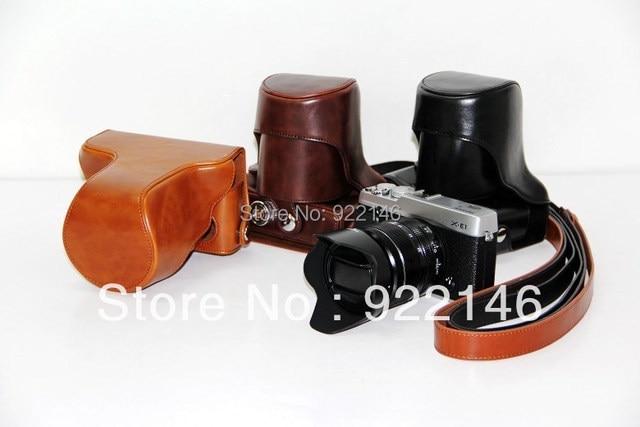 Free shipping FUJIFILM Fuji XE1 camera bag X-E1 camera holster XE-1 special package XE-1 holster camera bag