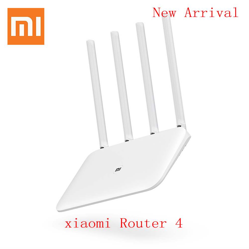 Xiaomi Mi Router 4 WiFi Repeater 1167Mbps Wireless Dual Band 2.4/5GHz 4 Antennas Dual Core 802.11 Remote Control Wifi Mi Router