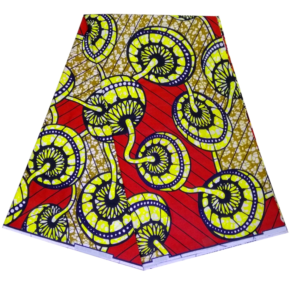 Modern African Style Fabrics African Exclusive Real Wax Fabric