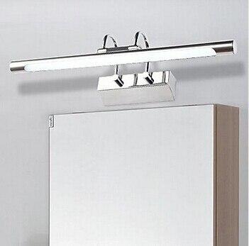 ᗑ】Moderne Eenvoudige LED Spiegel Licht, artistieke Rvs Plating ...