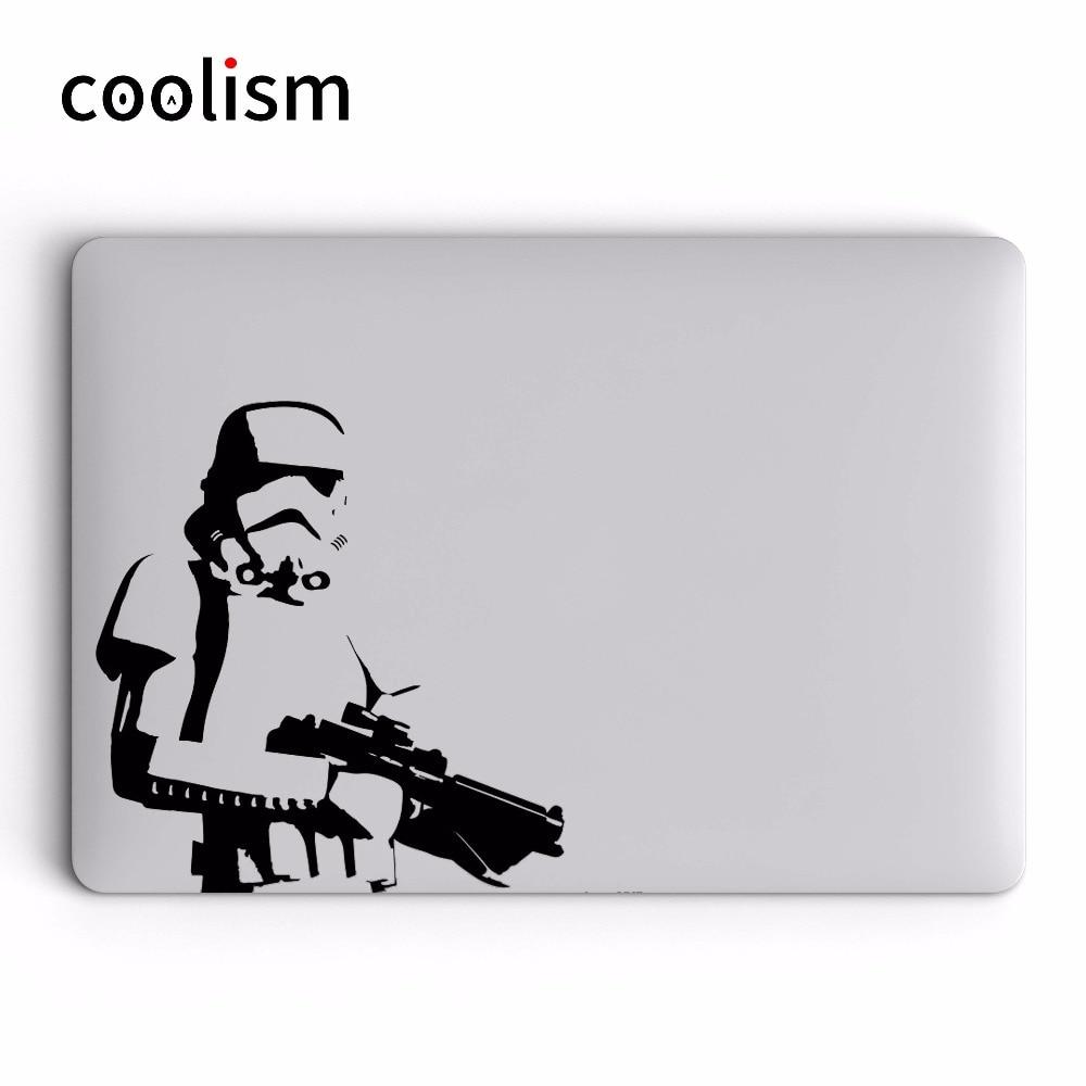 Csillagok háborúja Darth Vader Laptop matrica MacBook Decal Air Pro - Laptop kiegészítők - Fénykép 4