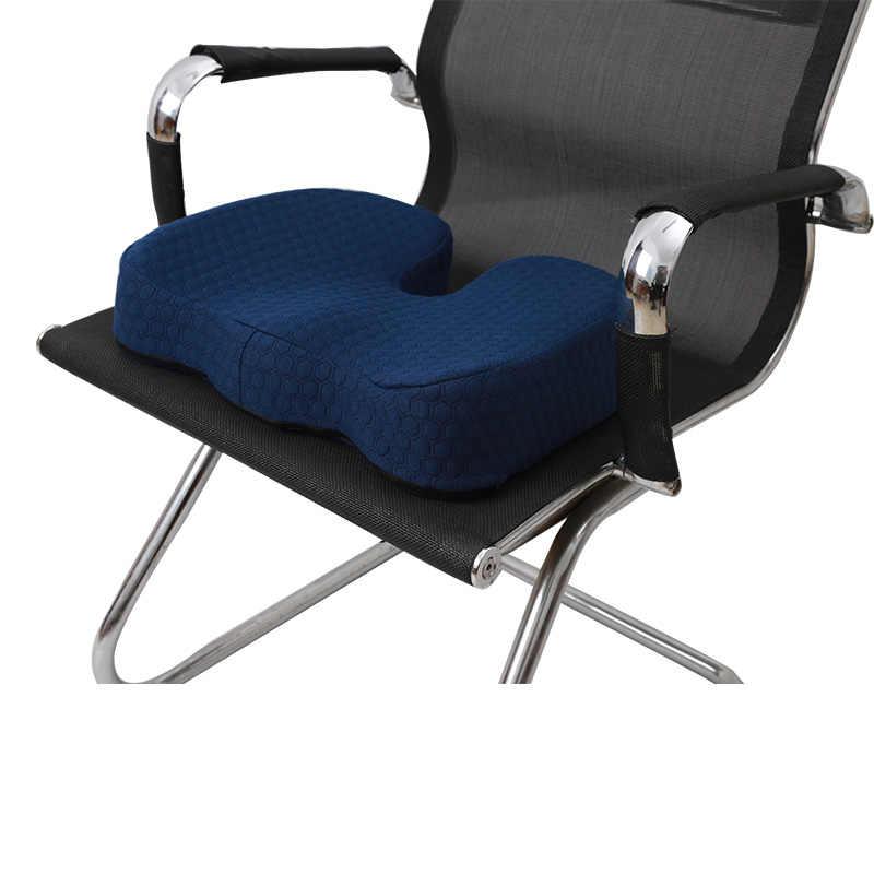 Poduszki na siedzenia samochodowe z pianki memory Coccyx ortopedyczne poduszka na krzesło ulga ból rwa kulszowa dla Office Home Almofada ergonomiczne hemoroidy