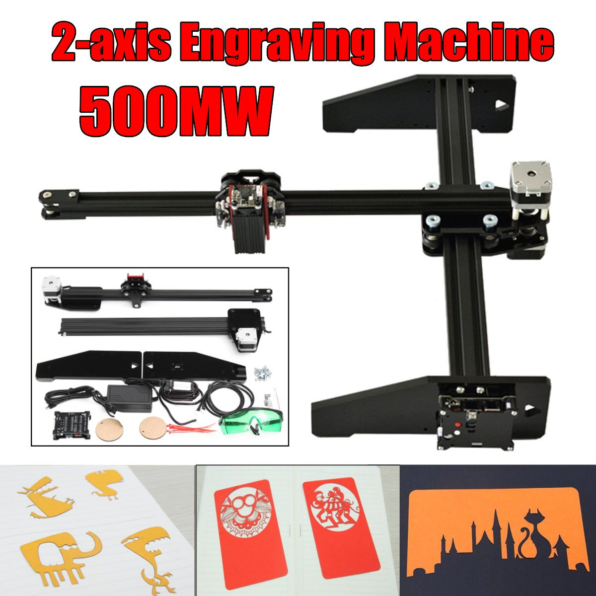 2 Axis 500mw A3 diy laser engraving machine,CNC Carver Cutter,metal engrave marking machine,metal carving machine,advanced toys защитное стекло caseguru зеркальное front