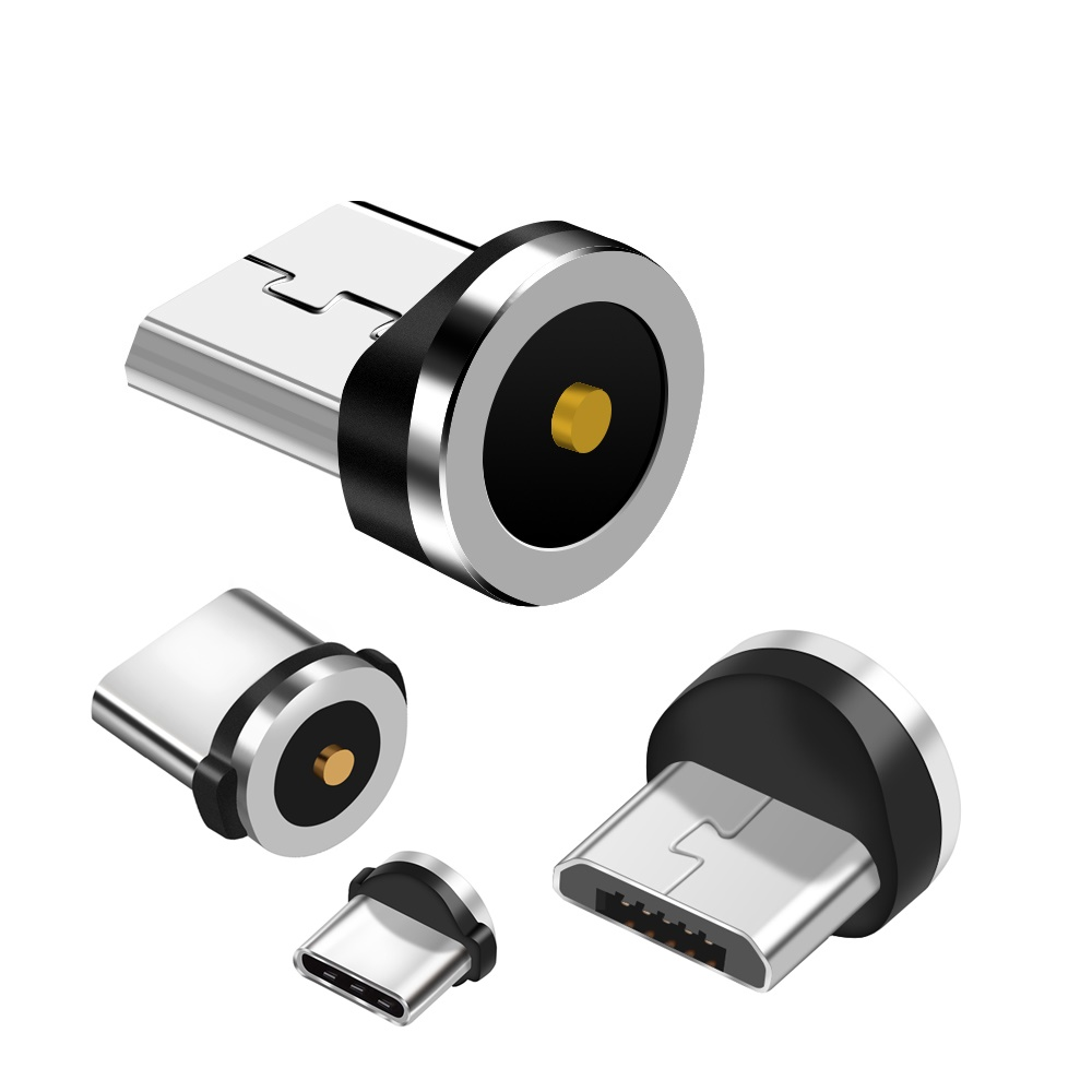 Magnetic Charger Type C Connector Plug for Olaf Round Cable micro usb android type c connector 1 pin
