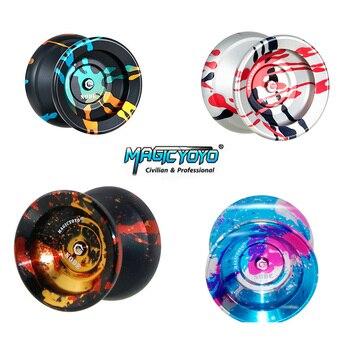 Оригинальные Классические детские игрушки MAGICYOYO Y01-NODE, устойчивые к падению, легко управляемые, с веревкой из чистого полиэстера