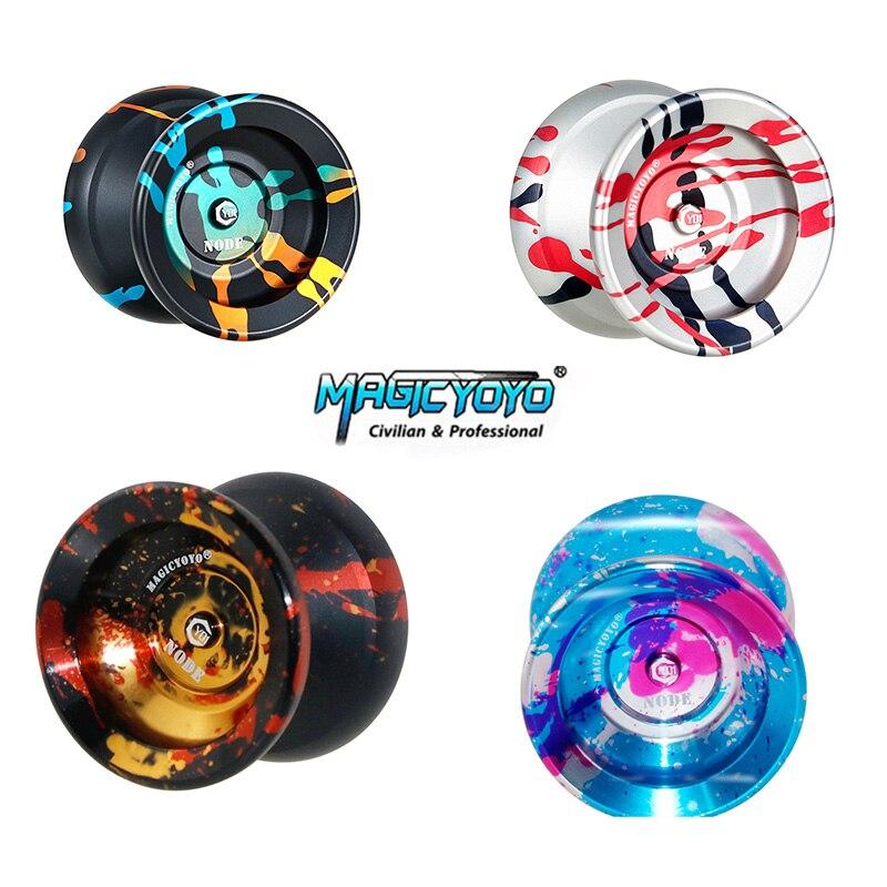 Original MAGICYOYO Y01-NODE classique jouets pour enfants résistant à la chute facile à utiliser yo-yo avec corde de qualité en polyester pur