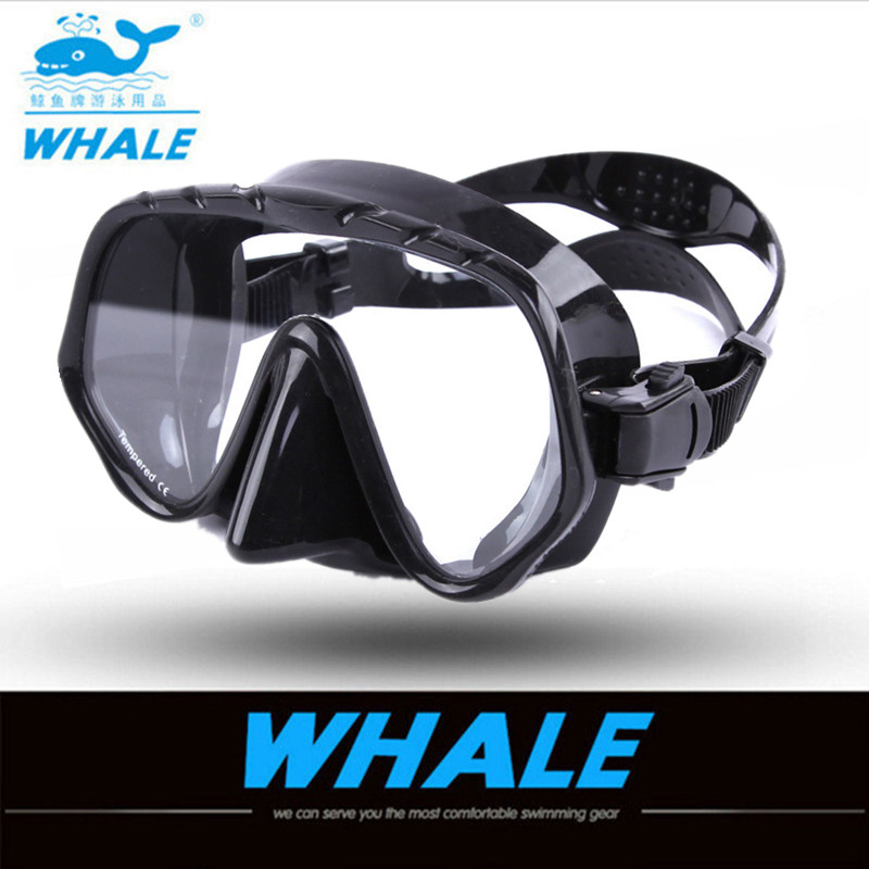 Learned New Brand Professional Brand Diving Mask ,seal Silicone Skirt Strap Snorkel Scuba Goggle With Great Vision Tempered Glass Adult