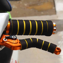 Dewtreetali Best selling Foam Sponge Motorcycle Bicycle Handle Grip Non-Slip Handbar Grips Brake Cover for Bicycle Handle