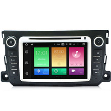 Android 6.0.1 Two Din 7 Inch Car DVD Player For Mercedes/Benz/Smart/Fortwo 2012-2014 Octa Cores 3G/4G WIFI Radio GPS Navigation
