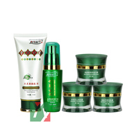 Wholesale And Retail Chinese GU YUN Face Whitening Day Cream 5pcs Set