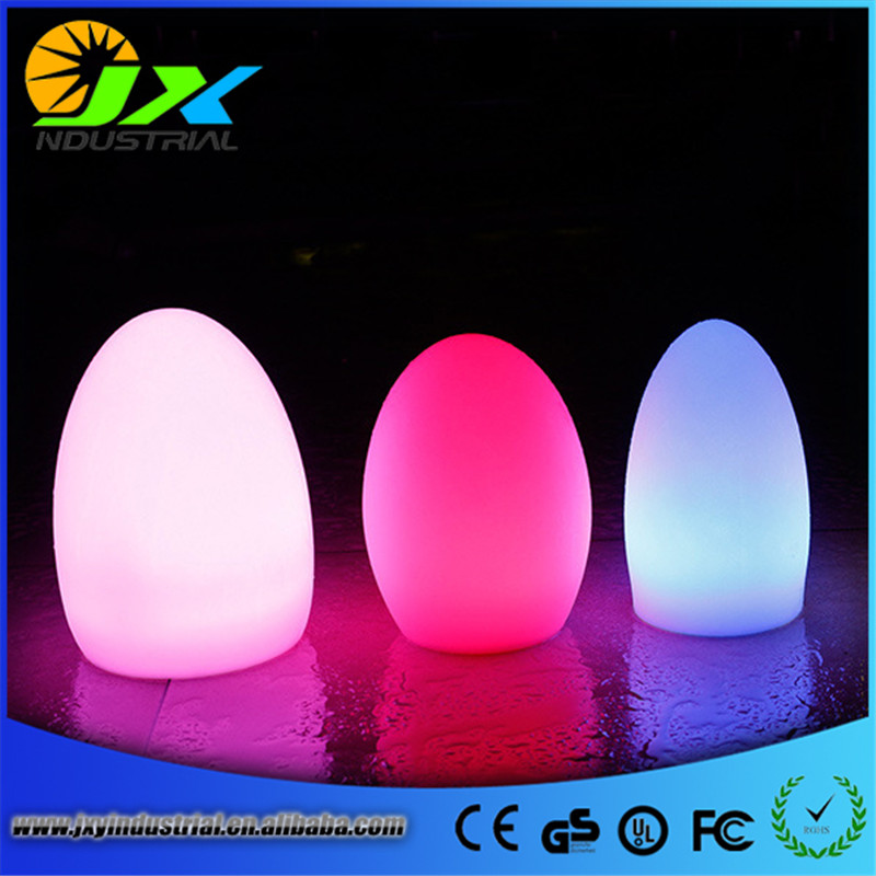 led furniture egg lamp