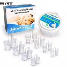8pcs Anti Snoring Nose Clips Anti Schnarchen Health Care Products