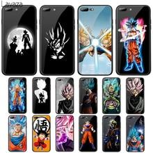 Чехол Lavaza Dragon Ball Z Super DBZ Goku из закаленного стекла для Apple iPhone 6 6s 7 8 Plus X 5 5S SE XS 11 Pro Max XR