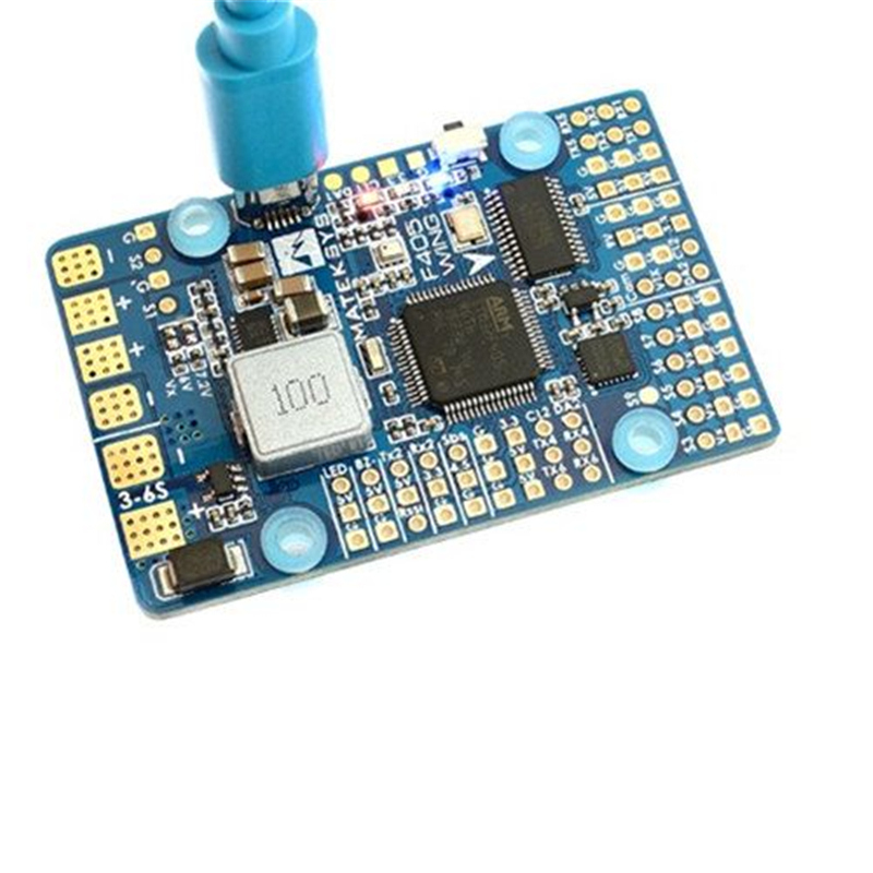 все цены на Matek Systems F405-WING F405 Flight Controller Built-in inverter for SBUS input RC Drone For RC Multicopter онлайн