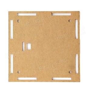 Image 4 - Funda carcasa transparente para actualización DIY, EC1515B DS1302, LED, Kit de reloj electrónico