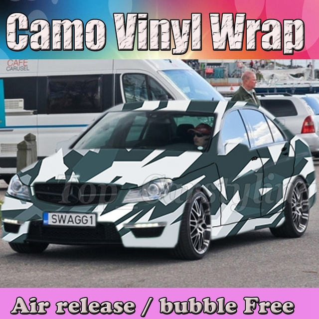 Camo Vinyl Camouflage Vinil Aufkleber Auto Wrap Folie Fur Lkw
