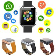 Bluetooth Smart Watch Leather Strap Sport Pedometer Smartwatch Kids Anti Lost Monitor Baby Wristwatch For Android English