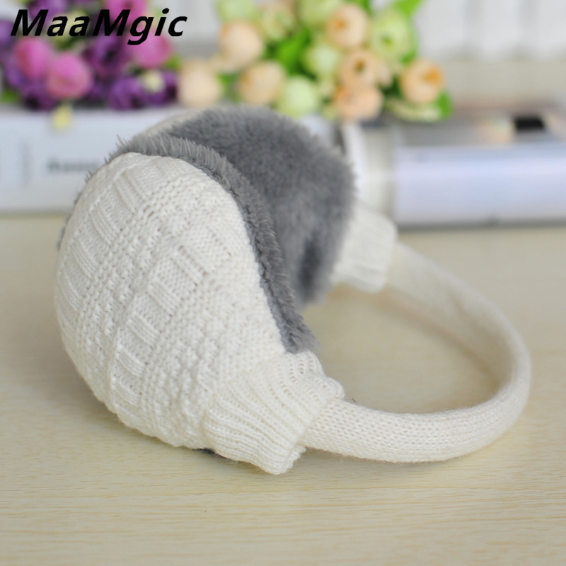 New Plush Female Winter Earmuff Warm Ear Muffs Headphones Women Men Earmuffs  Earphone Ear Warmers Protector Girl Fur Headphones