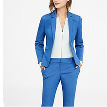 2017 Promotion Pantalones Mujer Women's Suit Notch Lapel Women Ladies Business Office Formal Tuxedos Jacket+pants New Suits