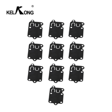Карбюратор KELKONG 10 шт., комплект для ремонта карбюратора, прокладка, диафрагма ДЛЯ Briggs & Stratton 270026 272538 272538S 272637 4157 5021