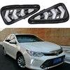 High Quality Daytime Running Light For Toyota Camry 2015 2016 Fog Light LED DRL Case Fog