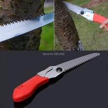 Portable Trimming Hand Saw Folding Fruit Tree Pruning Garden Yard Tool 130mm Trimming Saw B119
