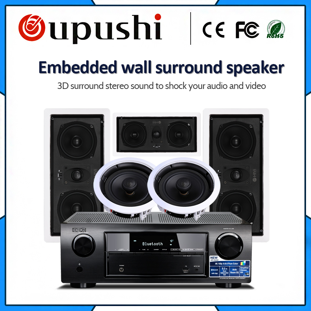 Акустическая система OUPUSHI 5,1 стерео динамик для домашней аудиосистемы