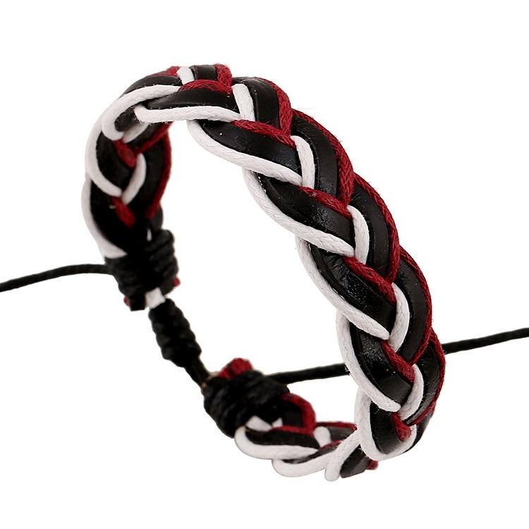 Knitting Rope For Sale : Aliexpress buy pangke b hand knitting bracelet