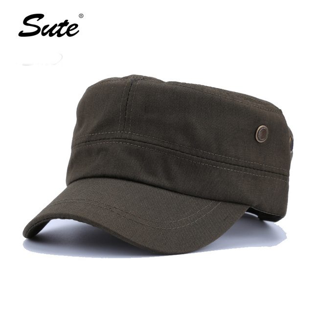 4898e99962e sute Classic Service Army Sunscreen Snapback hats Women Men Jazz style  Baseball Caps Patrol Casquette flat hats M-77