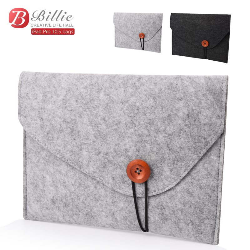 Sleeve Bag Pouch Case For Apple iPad Pro 10.5 inch high quality Shockproof Wool Felt Tablet Sleeve Bag Computer Notebook Cover 2016 high quality 7 inches universal tabet pc pda sleeve pouch pu leather bag case cover for ipad mini for samsung tablet 7 inch