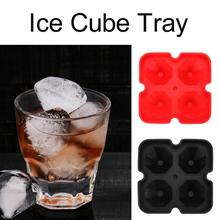 Diamond Shaped Ice Cube Tray DIY 4 Large Ice Cube Ball Maker Silicone Ice Cube Mold Kitchen Party Drinking Bar Accessories