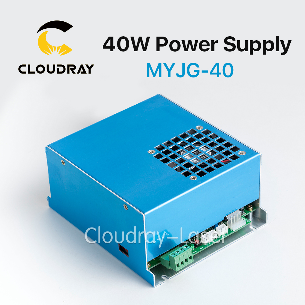 Cloudray 35-50W CO2 Laser Power Supply for CO2 Laser Engraving Cutting Machine MYJG-40 150w co2 laser power supply for co2 laser engraving cutting machine hy t150 use for co2 laser tube 130w 150w