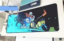Undertale геймерский коврик для мыши HD печати 800x300x3 мм игровой коврик для мыши дешевый тетрадь pc интимные аксессуары ноутбук padmouse эргономичный коврик