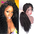 Long Curly Synthetic Lace Front Wigs for Black Women Afro Kinky Curly Lace Front Synthetic Wig Heat Resistant Japanese Fiber Wig